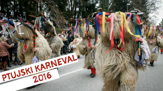 VIDEO: Pustni karneval na Ptuju