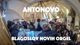VIDEO: Antonovo žegnanje in blagoslov novih orgel